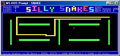 Silly Snakes Screenshot